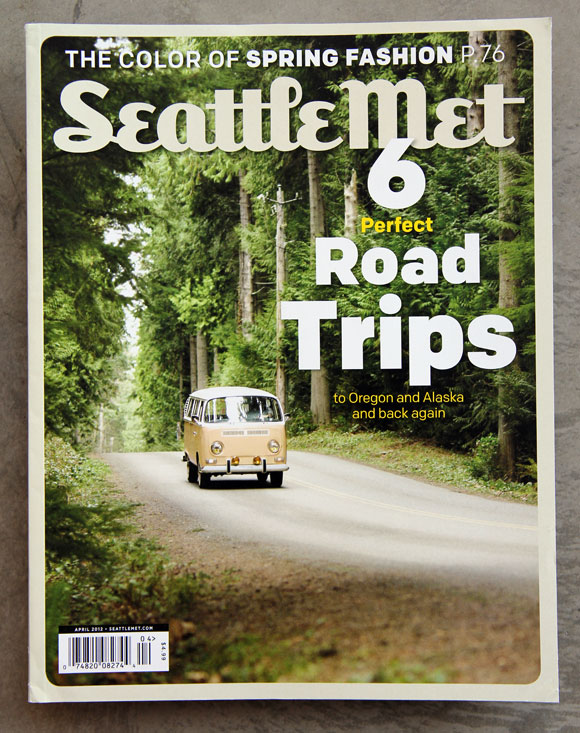 Colfax on the cover of Seattle Met.